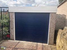 With an electric roller garage door you can enter your garage in style as well as ease. Click the link to find your garage shutter door today! Garage Doors Uk, Single Garage Door, Garage Door Makeover, Garage Walls, Roller Doors, Roller Shutters, Electric Rollers, Shutter Colors