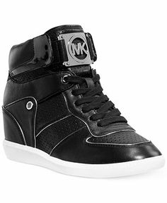 MICHAEL Michael Kors Nikko High Top Logo Sneakers - Finish Line Athletic Shoes - Shoes - Macy's