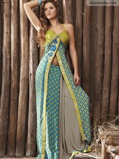 Stylish pattern Blue & Cream Shade Saree in $45.00 at Goodbells. Click here to buy: http://goodbells.com/saree/stylish-pattern-blue-and-cream-shade-saree.html?utm_source=pinterest_medium=link_campaign=pin22juneR21P517