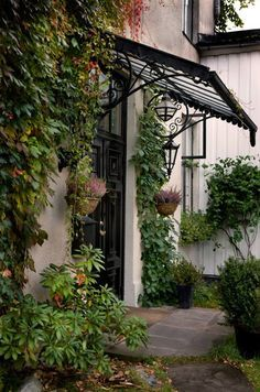ideas for black door exterior front entry wrought iron