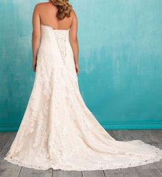 New Wedding Dress Lace Mermaid Bridal Gown Custom Plus Size 18 20 22 24 26 28 ++