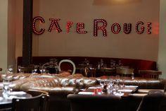Café rouge - Paris by VALDEL