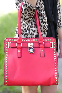 Locked Out Of Heaven Purse: Red