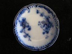 Flow Blue Marchal Neil Butter Pat in Excellent Condition | eBay