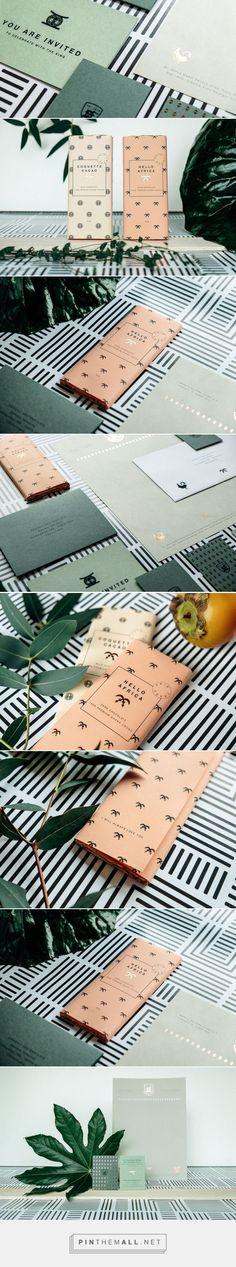 King Nana K. Owusu Stationery — The Dieline - Branding & Packaging Design - created via https://pinthemall.net