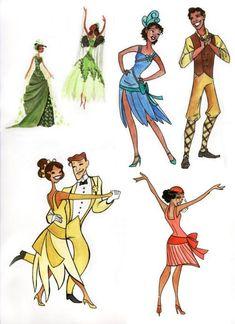 Tiana and Naveen - The Princess and the Frog Kida Disney, Walt Disney, All Disney Princesses, Cute Disney, Disney Girls, Disney Characters, Tiana And Naveen, Princess Tiana, Disney And Dreamworks