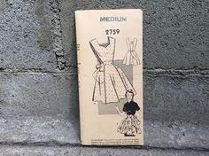 50's APRON Pattern 2759 Mail Order / MEDIUM by ElkHugsVintage