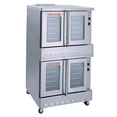 Blodgett Double Stack Convection Oven - Gas Convection Ovens - SHO-G