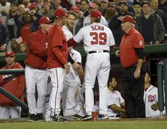 What else is there to say about his behavior after the week he has had …Calm it Down Bryce …it isn't a good look acting like that. It time for Bryce Harper to d something called g…