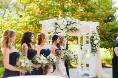 Elegant Outdoor Fall Wedding in October