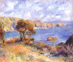 View at guernsey, 1883, Pierre-Auguste Renoir