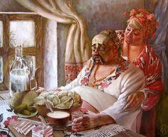 Украинский колорит в картинах Иванова А. Г.