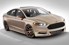 Ford shows off SEMA-bound Fusion specials Audi, Bmw, Ford Motor Company, Cadillac, Ford Fusion Custom, 2013 Ford Fusion, Black Wheels, Hot Wheels, Performance Cars