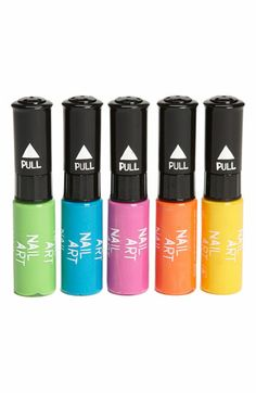 NPW Nail Art Pens (Set of 5) (Girls) available at #Nordstrom
