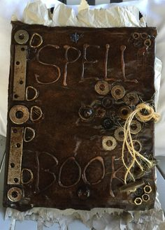 SPELL BOOK.....Halloween costume it took a while to make but I am pleased at the results!!!! DIY