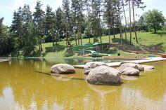 Garden Bridge, Golf Courses, Outdoor Structures, Travel, Viajes, Destinations, Traveling, Trips