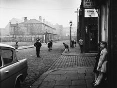 Street Photographs: Manchester and Salford by Shirley Baker Salford, Manchester Street, Manchester England, White Photography, Street Photography, Photography Tips, Shirley Baker, Ford Anglia, Street Portrait