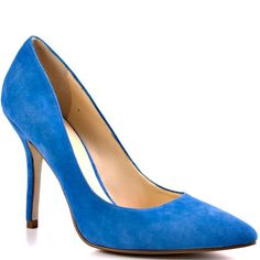 Click Image Above To Purchase: Mipolia - Light Blue Suede