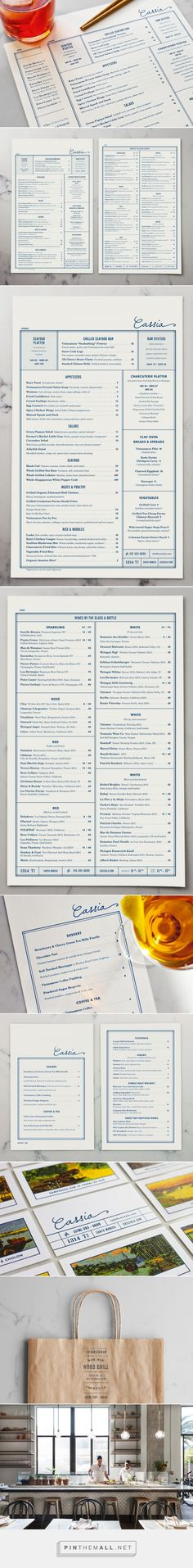 Art of the Menu: Cassia... - a grouped images picture - Pin Them All