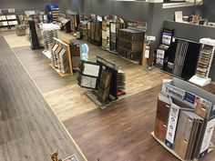 Overview of our luxury vinyl products, laminate products and sheet vinyl products.  Separated by category for easy browsing.