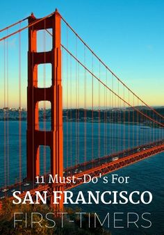 Over the past 200 years, San Francisco has experienced a gold rush, massive earthquakes, and dozens of art movements. The result? A traveler's paradise with countless historical, culinary and artistic experiences to be encountered. If it's your first time visiting Golden Gate City (or even if you're a repeat traveler), here's your guide to San Francisco's must-visit sights and hotspot