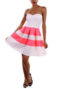 94% POLYESTER 6% SPANDEX SOLID DRESS MADE IN USA