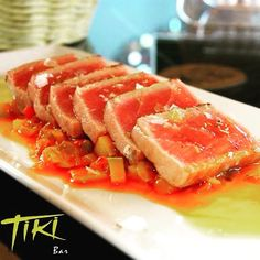 TIKI (PLAYA BLANCA | LANZAROTE) #tuna #tataki #canarias #homenade #lanzarote #goodfood #cannyfood #playablanca #tiki - www.cannyfood.com by cannyfood_lanzarote