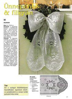 Christmas ribbon with diagram