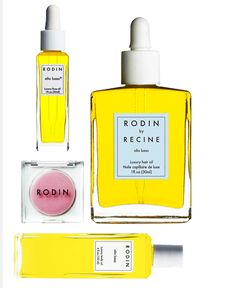 all things Rodin  - including the body cream which is not pictured