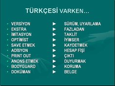 #türkçe #bilgi #dil #dilbilgisi #yabancıdil Turkish Language, English Language, More Than Words, Karma, Books To Read, Literature, Poems, Learning, Quotes