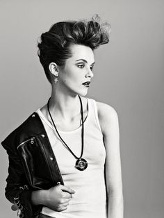 The fusion of feminine and rebel signifies the rockabilly nature of this fashion editorial from Metal Magazine. Description from pinterest.com. I searched for this on bing.com/images