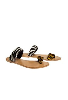 KISUA | Shop African Fashion Online - Quick lady slipper zebra/cheetah