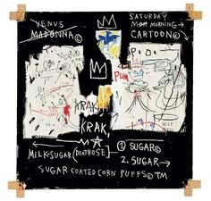 Jean-Michel Basquiat Now's The Time. A Panel of Experts, 1982