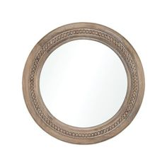 Elk Home Riverrun Circular Flat Wood Framed Accent Mirror Natural Home Decor Mirrors Accent Mirror Square Led Ceiling Lights, Bleached Wood, Mirror Shapes, Home Decor Mirrors, Wood Dust, Metal Mirror, Natural Home Decor, Coastal Style, Wood Colors