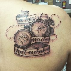 FMA Tattoo, wow! This is actually pretty cool!