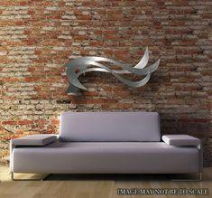 Ocean Breeze Standard Ocean Art Sea Art Waves Beach Home Metal Wall Art Art Decor Abstract contemporary Modern Sculpture Modern Metal Wall Art, Large Metal Wall Art, Metal Wall Art Decor, Glittering Lights, Sea Art, Wall Sculptures, Metal Walls, Decoration, Ramen