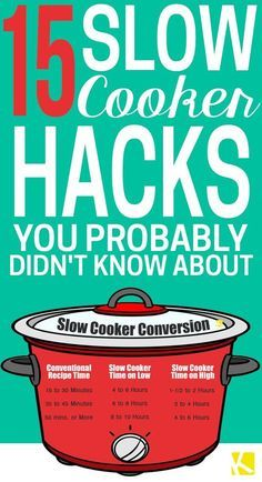 Slow cooker and crockpot meals are the best — literally set those healthy chicken, beef, and casserole dishes and forget it. But before you try another recipe, make sure you use your crockpot to the fullest with these easy tips and hacks. Crock Pot Food, Crockpot Dishes, Crock Pot Slow Cooker, Pressure Cooker Recipes, Crockpot Meals, Freezer Meals, Crock Pots, Crockpot Cook Times, Freezer Burritos