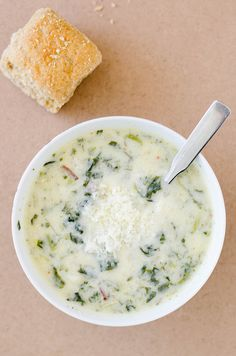 Kale and Potato Soup | This soup is creamy, comforting, and actually healthy! With the frigid temperatures again, soup is high on my list of food priorities to warm me up. Lots of garlic and onion give this potato soup great depth. @cooking ala mel | Melinda