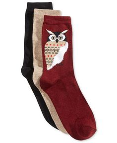 These darling owl socks. | 17 Adorable Products You Need If You Love Owls