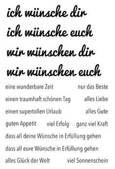 "#dpKartenstempel AddOn zum #dpSeptemberkit15 von www.danipeuss.de | Klartext Stempel ""alle Wünsche"""