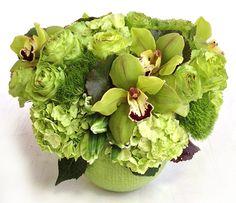 Green Goddess - Floral Art