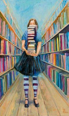 library, bookstore....