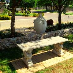 Outdoor Furniture, Outdoor Decor, Garden Landscaping, Pond, Swimming Pools, Garden Sculpture, Garden Design, Landscape, Gardens