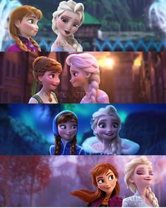 this one ain't a theory, just a simple collage of our beloved Arendelle sisters throughout the Frozen franchise❄️ Frozen Disney, Princesa Disney Frozen, Frozen Movie, Frozen Frozen, Elsa Frozen Fever, Frozen Funny, Frozen Anime, Arendelle Frozen, Frozen Elsa And Anna