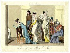 Aaron Martinet, 1802 Caricatures Parisiennes / Le suprême bon ton