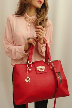 dkny donna karan, I always wanted a RED purse---this is perfect! Wish list:)