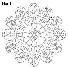 What do you know about crochet mandala pattern? It is a beautiful crochet pattern that can be adapted for creating a functional crochet item. Crochet Mandala is typical in which it has a circular shape and various colors of the… Continue Reading → Crochet Doily Diagram, Crochet Mandala Pattern, Crochet Circles, Crochet Doily Patterns, Crochet Chart, Crochet Squares, Crochet Doilies, Crochet Flowers, Crochet Stitches