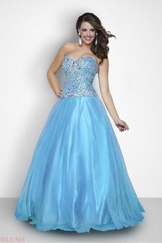 Ball Gowns - Pink by Blush Prom Plus Style 112W #IPAProm