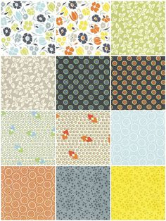 Meadowlark - DS quilts fabrics by Denyse Schmidt