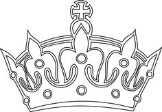 keep calm crown vector